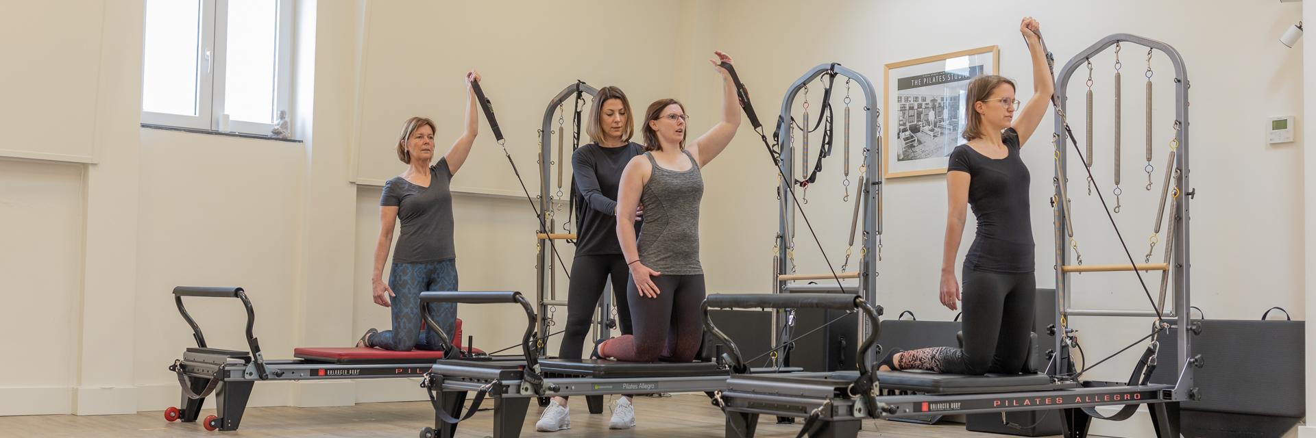 Pilates reformer groepslessen - Inna Gulak - inna Gulak Pilates - Pilates venlo - Pilates groepslessen - Personal Training - Pilates Reformer - Pilates Mat - Venlo - 04